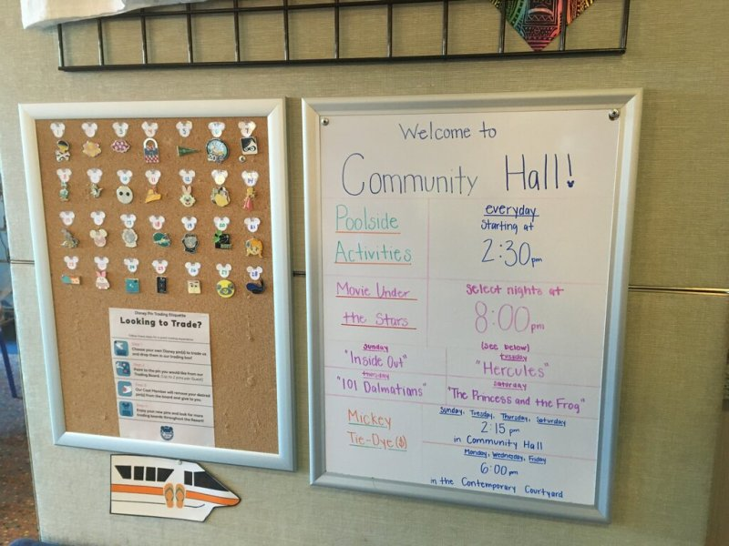 Bay Lake Tower Community Hall