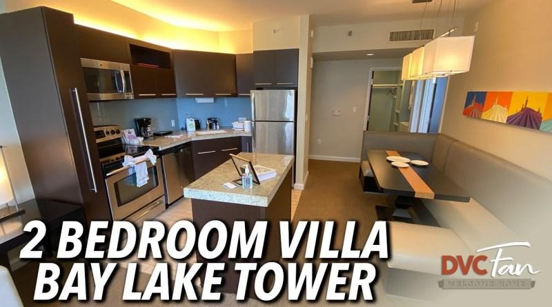 Disney's Bay Lake Tower 2-Bedroom Villa Room Tour