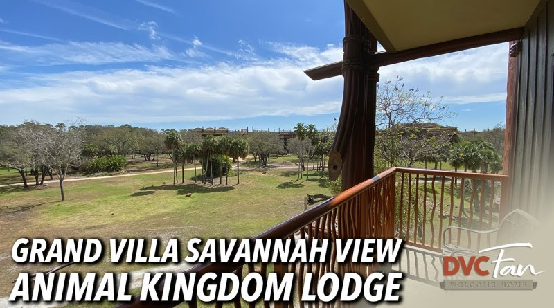 Animal Kingdom Lodge Grand Villa