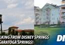 Disney Springs to Saratoga Springs