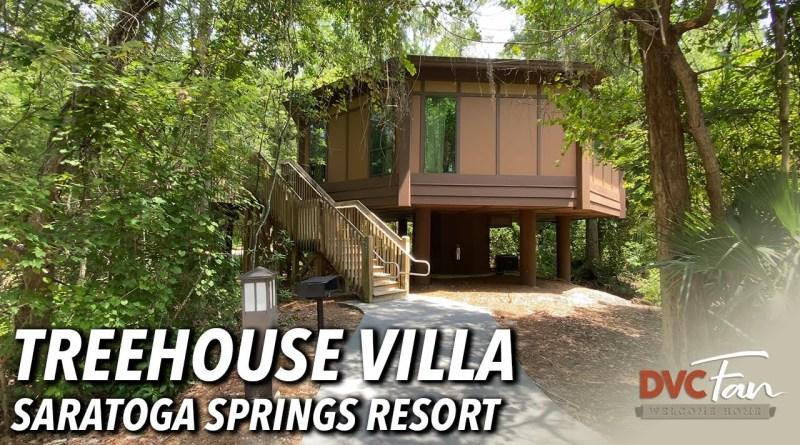 Saratoga Springs Treehouse Villa Review