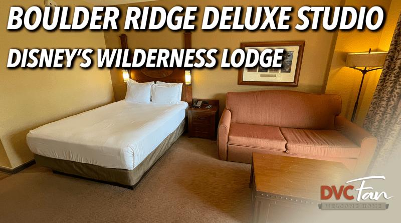Boulder Ridge Deluxe Studio
