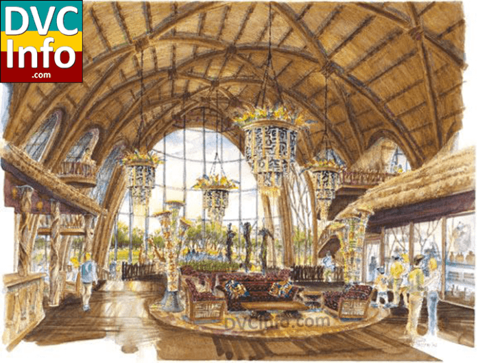 2006 Animal Kingdom Villas concept art Kidani Village