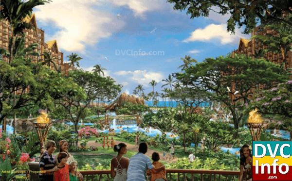 Aulani A Disney Resort Concept Art