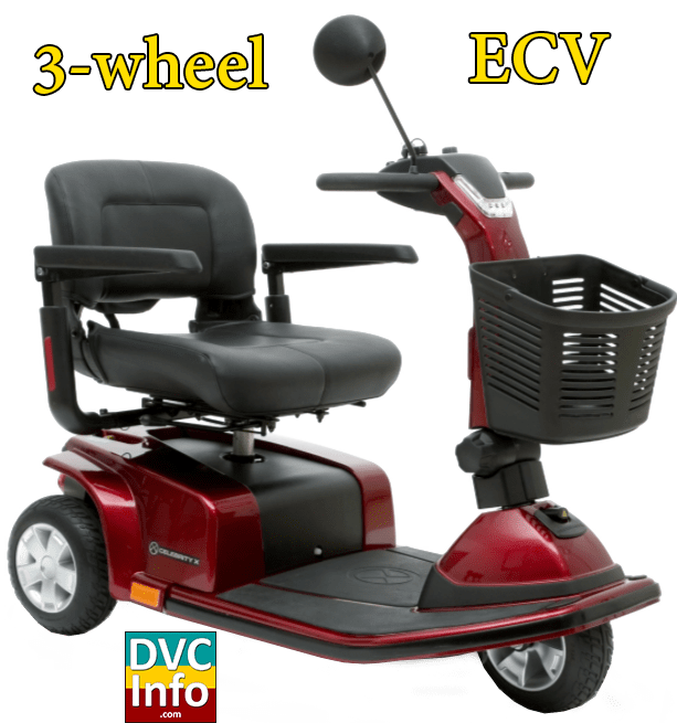Using a scooter ecv dvcinfo for Motorized scooter disney world