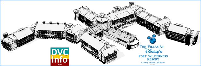 Disney's Fort Wilderness DVC Buildings