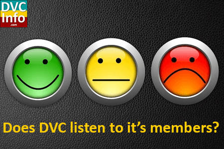 Does DVC listen to its members?