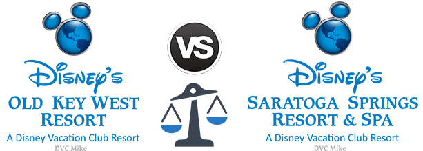 Old Key West vs. Saratoga Springs Resort