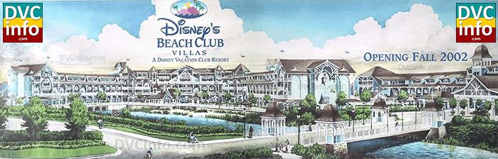 Disney's Beach Club Villas coming Fall 2002