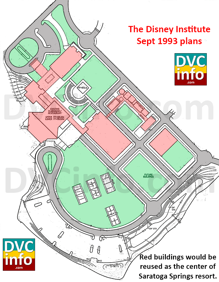 The Disney Institute site plan Sep 1993