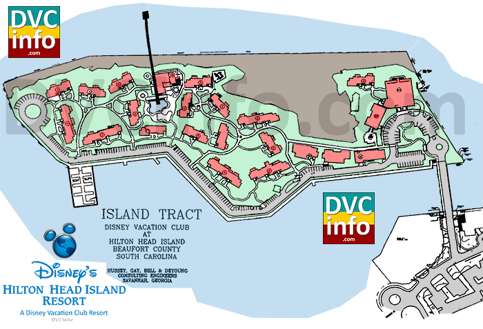 Disney's Hilton Head Island site plan (click for larger image)