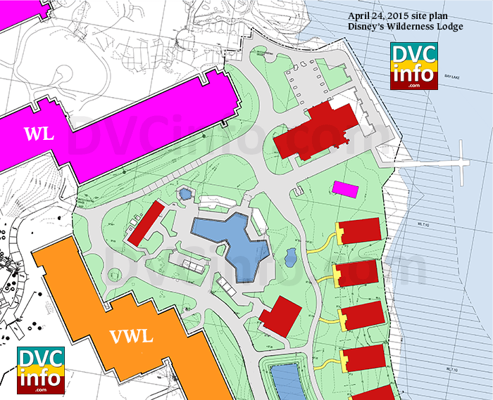 Wilderness Lodge DVC Expansion April 2015 plans