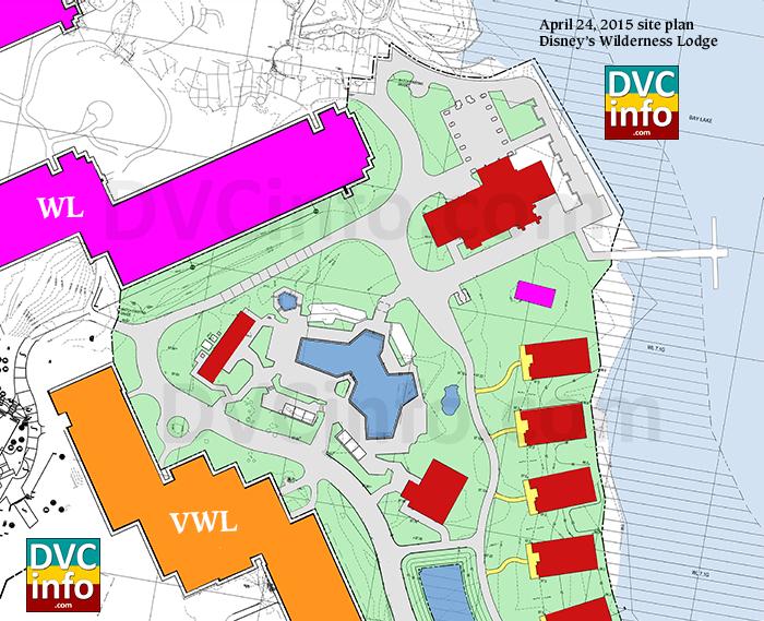 Wilderness Lodge DVC Expansion April 2015 plans