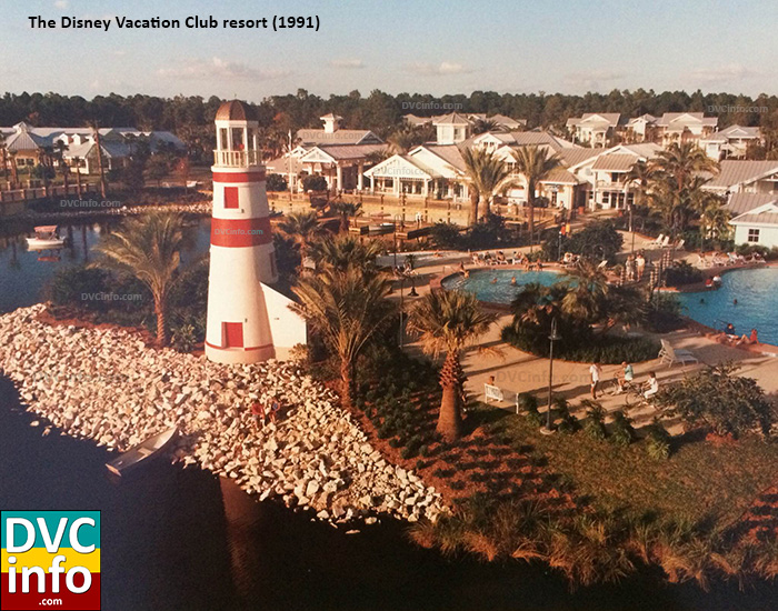 Disney Vacation Club resort in 1991