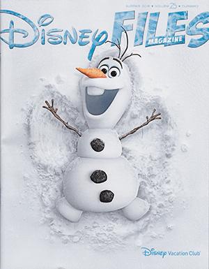 DisneyFilesCoverSummer2016