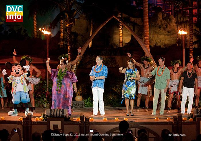 Disney Aulani Grand Opening ceremony