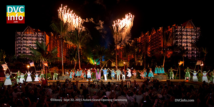 Disney Aulani Grand Opening ceremony