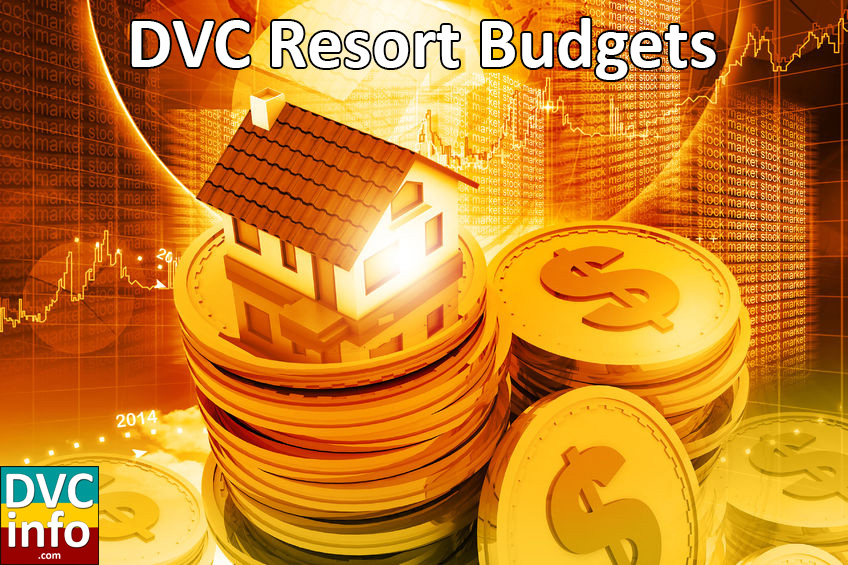 DVC Resort Budgets