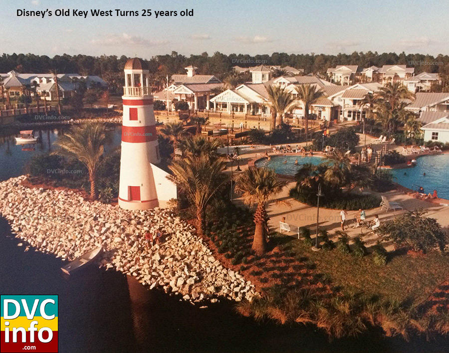 Disney's Old Key West Turns 25 years old
