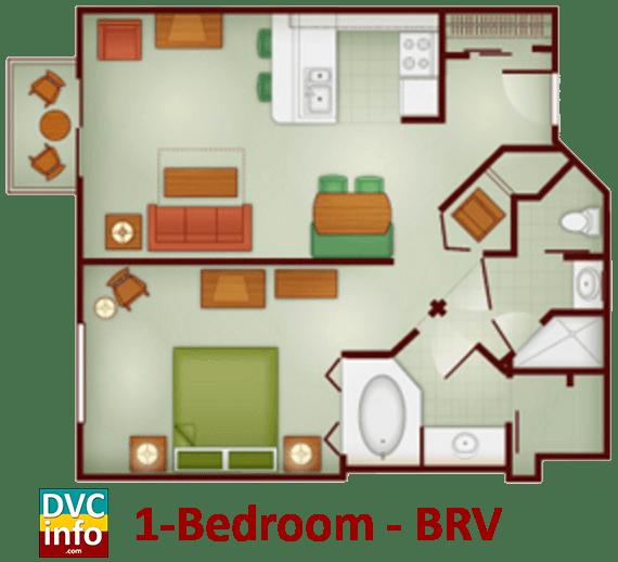 The Villas At Disneys Wilderness Lodge on Disney Wilderness Lodge 2 Bedroom Villa Floor Plan