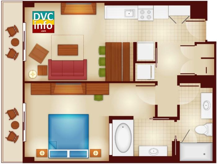 1-bedroom - Copper Creek Villas & Cabins