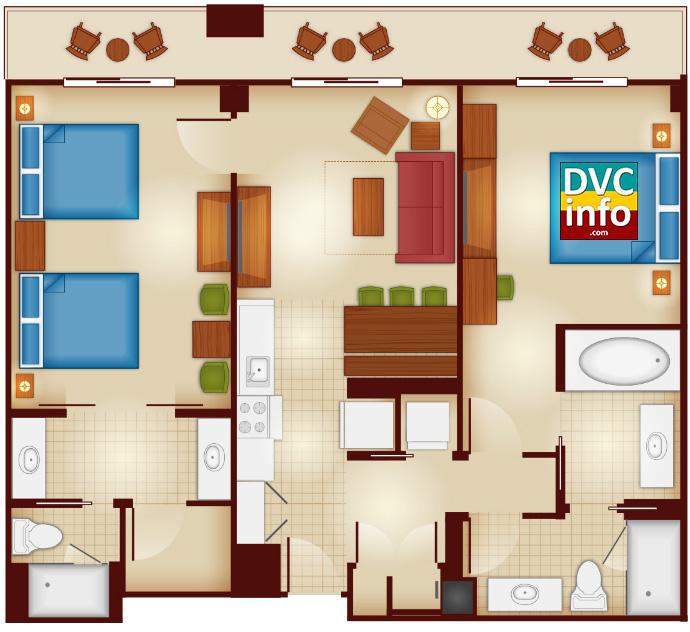 2-bedroom - Copper Creek Villas & Cabins