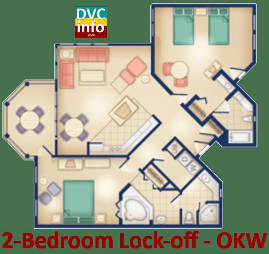 Old key west resort 2 bedroom villa