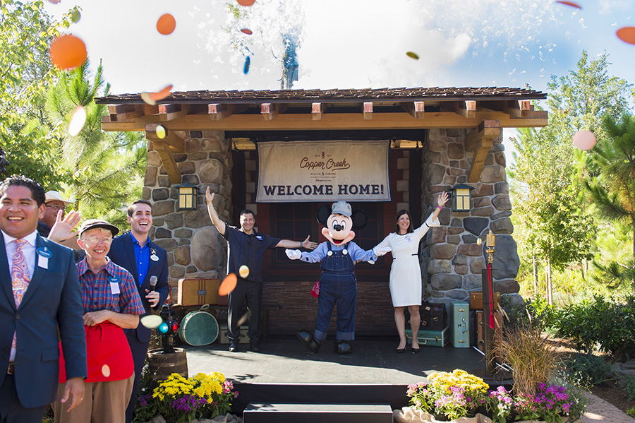 Copper Creek Villas Grand Opening