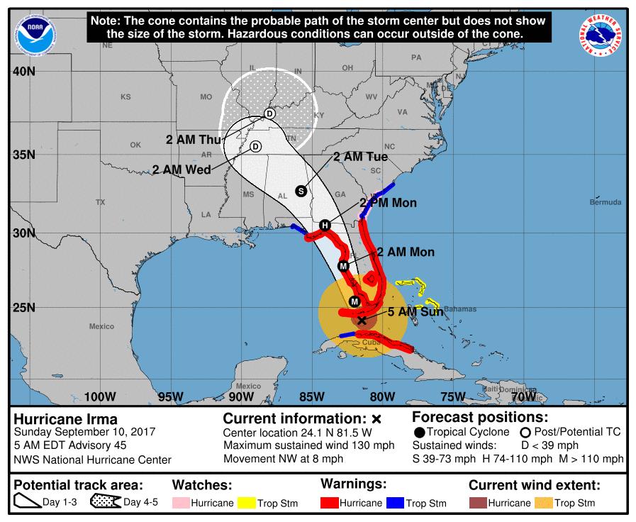 Disney Hurricane Irma Closures & Cancellations