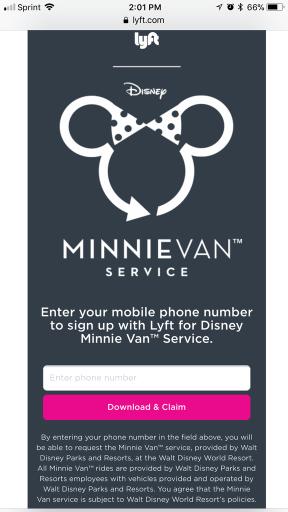 Minnie Van Invite