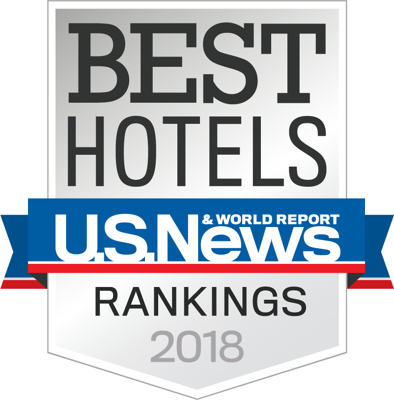 US News & World Reports Best Hotels 2018