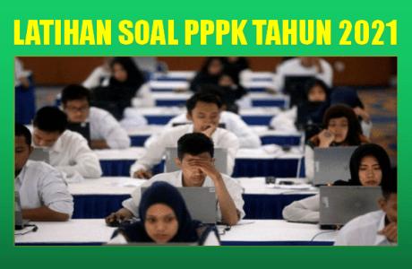 Contoh Soal Ujian PPPK P3K Tahun 2021 Materi Matematika SD