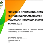 Prosedur Operasional Standar POS Penyelenggaraan AKMI Tahun 2021