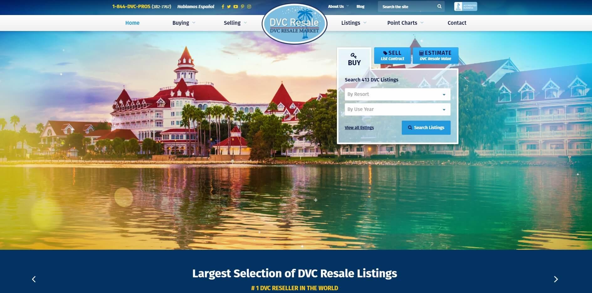 Top Ten Website Enhancements To DVCResaleMarket.com
