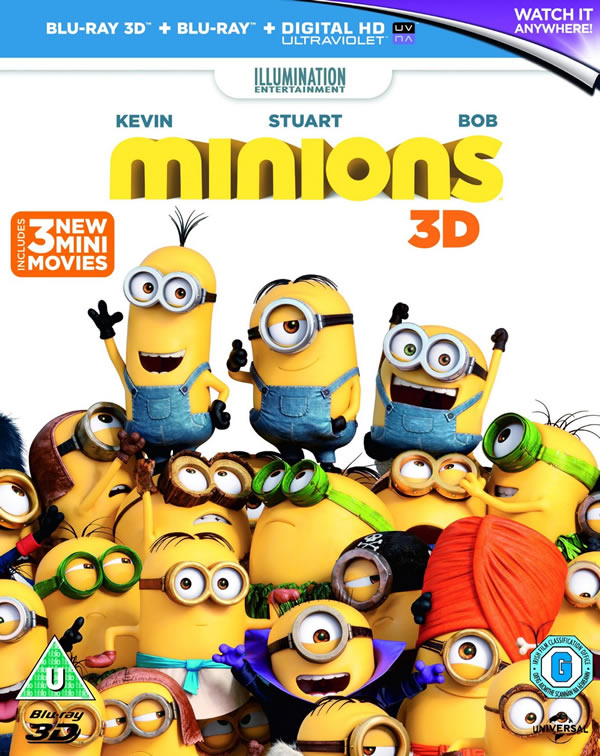 New Blu-ray and DVD releases November 16th 2015