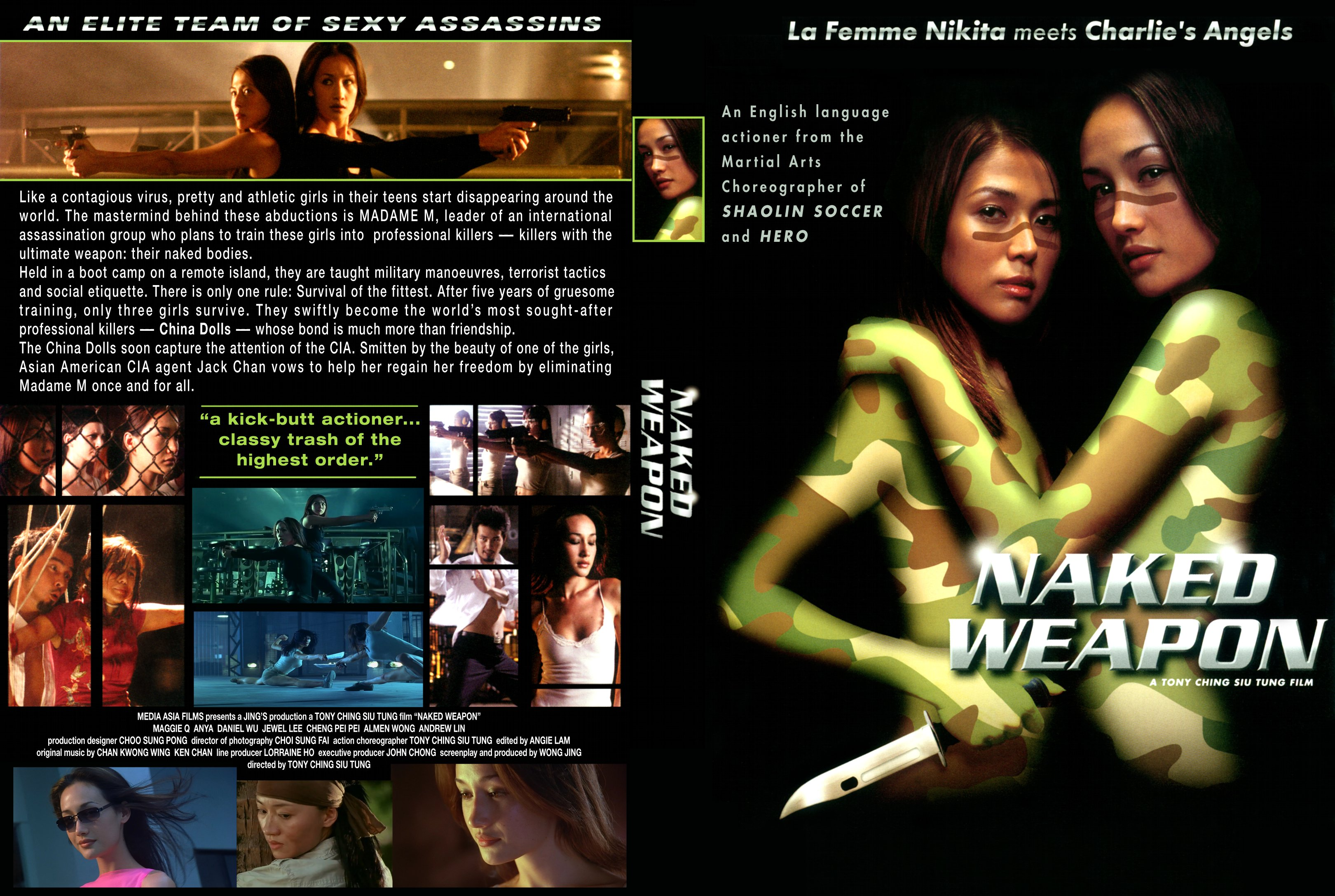 Naked Weapon (2002) Unrated 720p BDRip Multi Telugu Dubbed