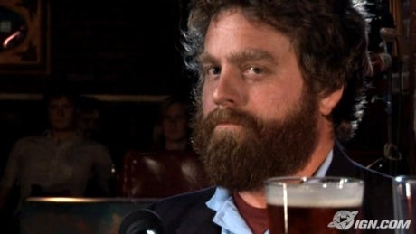 zach galifianakis as norm peterson