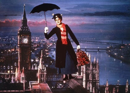 Image result for opening of mary poppins photos