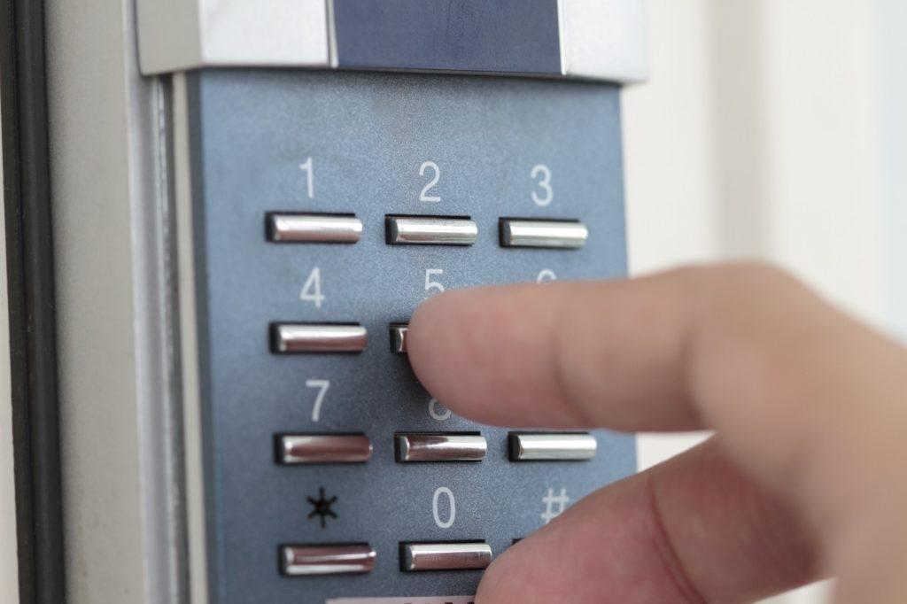 Encoding ang lock ng pinto ng hangin