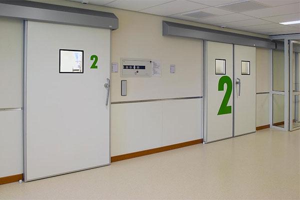 Специализированные двери для производственных помещений