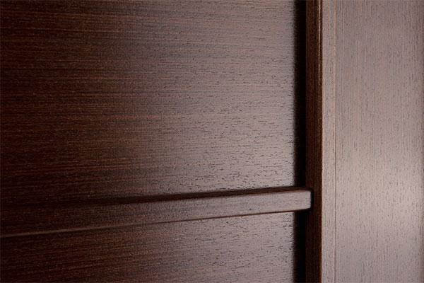 Межкомнатные двери цвета венге