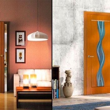 Двери с покрытием ПВХ собственного производства