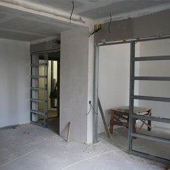 Установка двери пенал