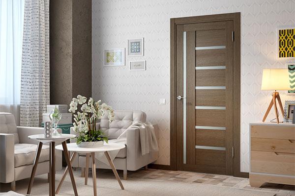 Межкомнатные двери с декоративным 3D покрытием