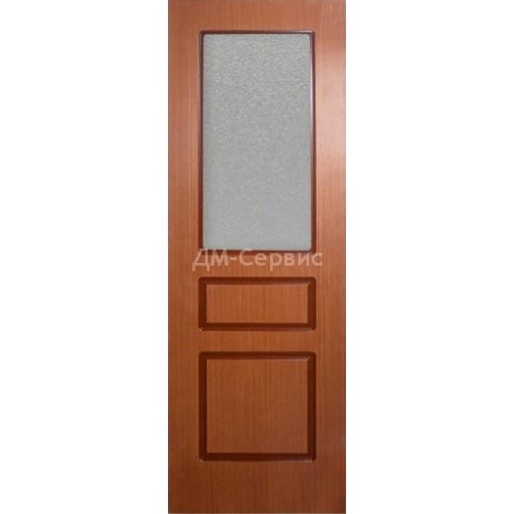Межкомнатная шпонированная дверь «Марсель 3» (со стеклом)
