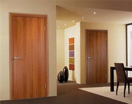 Ламинированные строительные двери