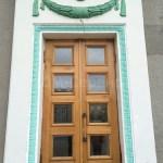 дубовые двустворчатые двери