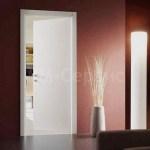 двери офисные белые ламинированные с четвертью