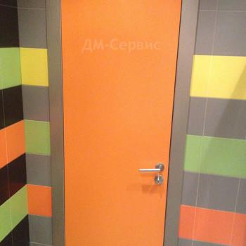 Дверь облицованная пластиком cpl для санузла
