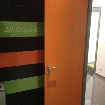 Дверь пластиковая для ванной комнаты